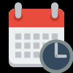 calendar تقويم الدورات المباشرة