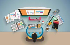 صناعة مواقع الويب